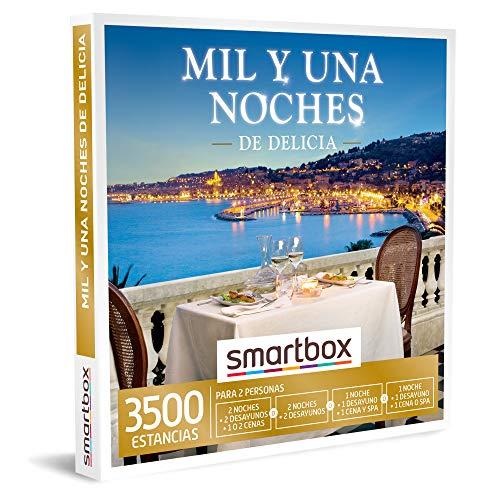 SMARTBOX – caja regalo amor para parejas – Mil y una noches de delicia – ideas regalos originales – 2 noches, desayuno y…