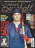 NEWEST GUIDE: Beckett Baseball Monthly Price Guide (March 24, 2017 release / Benintendi cover)