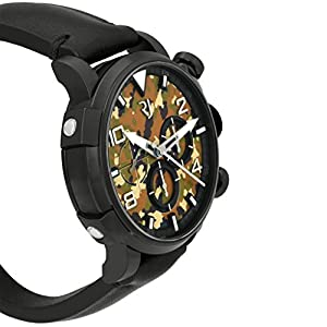 Romain Jerome Pinup DNA WWII Mila Garter Chrono Auto Men Watch RJ.P.CH.002.01