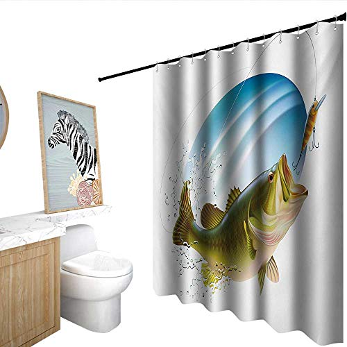 Best Deals On Nigel Thornberry Splashing Shower Curtain Products