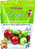 Grandma Lucy'S - Organic Baked Dog Treats - Apple - 14Oz