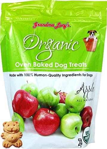 Organic Baked Dog Treats - Apple - 14oz