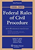 Federal Rules of Civil Procedure 2008-2009 W/Resources for Study, Subrin, Stephen N., 0735572143