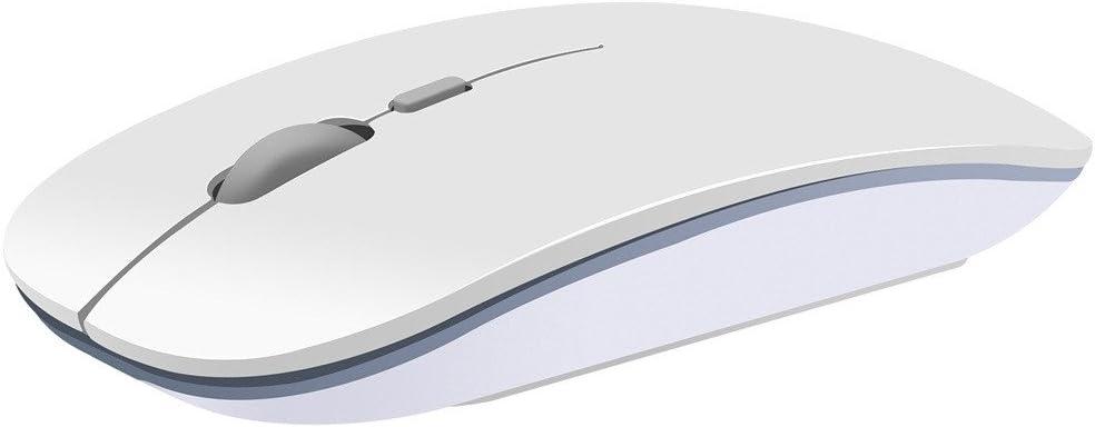 OHQ RatóN InaláMbrico De Silencio 2.4GHz USB InaláMbrico InaláMbrico 1600DPI Optical Pro Gaming Mouse Ratones para PC PortáTil Combo InaláMbrico De Mouse Y Teclado Auriculares