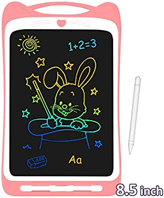 Color : Blue Jinxuny LCD Writing Tablet Portable Smart 8.5 LCD Writing Tablet eWriter Digital Drawing Writing Handwriting Pad Electronic Graphic Tablets Message Board with Stylus