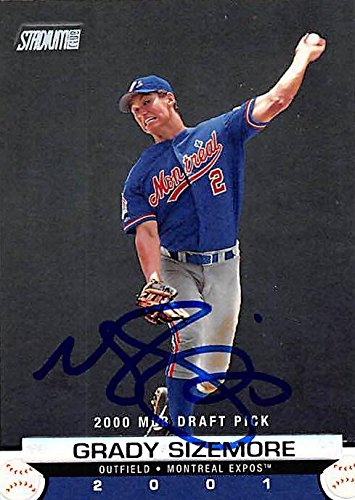 Grady Sizemore autographed Baseball Card (Montreal Expos,...