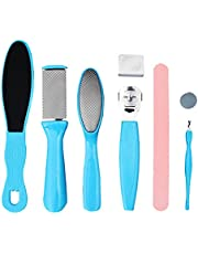 Pedicure Kit Foot File RASP - Removing Hard Cracked Dead Skin Cells - Professional Callus Remover Foot Corn Remover with Nail File for Home Pedicure