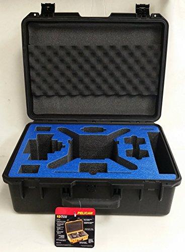 DJI Phantom 4 Case by Pelican (BLUE FOAM TOPPER)