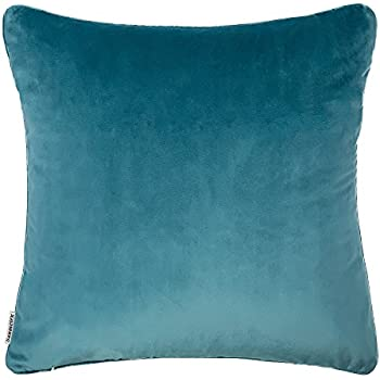 Soft Soild Velvet Luxurious Smooth Decorative Throw Pillow Cases Cushion  Cover/Sham With Invisible Zipper
