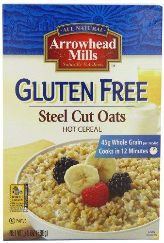 Arrowhead Mills Gluten Free Steel Cut Oats, 24-Ounce (Pack of - Arrowhead Mills Nut Butters