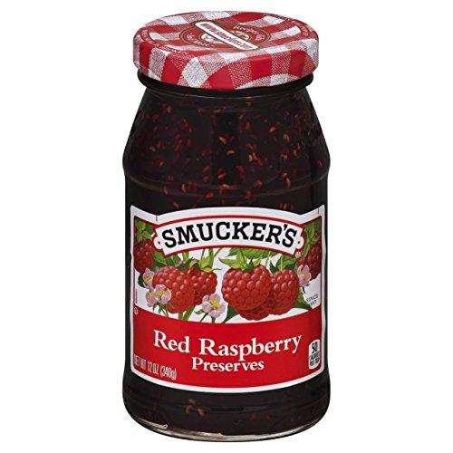 Smucker's  Red Raspberry Preserves, 12 Ounce ()