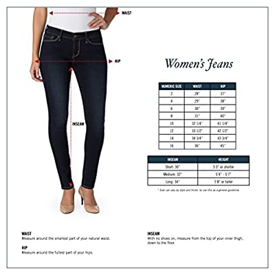 Signature by Levi Strauss & Co. Gold Label Women's Modern Skinny Jeans