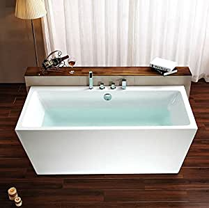 Bathtub Soaking 67 Quot L Rectangle Modern Design With Faucets