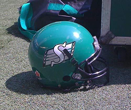 Saskatchewan Roughriders Canadian Football League CFL Helmet Edible Cake Topper Image ABPID07781 - 1/8 sheet