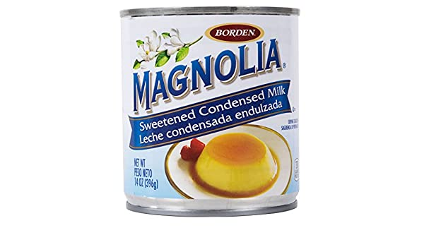 Amazon.com : Magnolia 14 oz. Sweetened Condensed Milk - 24/Case By TableTop King : Grocery & Gourmet Food