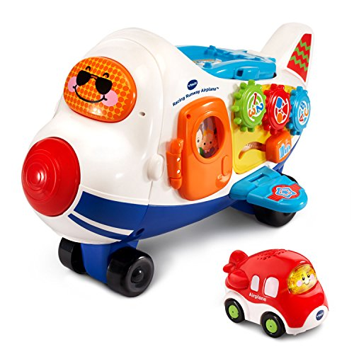 VTech Go! Go! Smart Wheels Racing Runway Airplane
