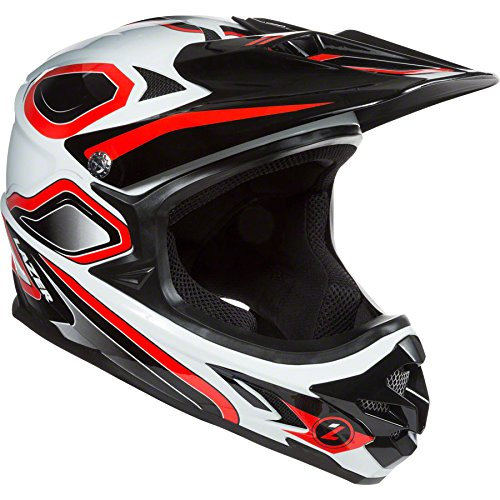 Lazer Phoenix+ Helmet: Red and White MD Review