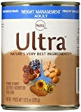 ULTRA Adult Weight Management Canned Dog Food 12.5 Ounces (Pack of 12)