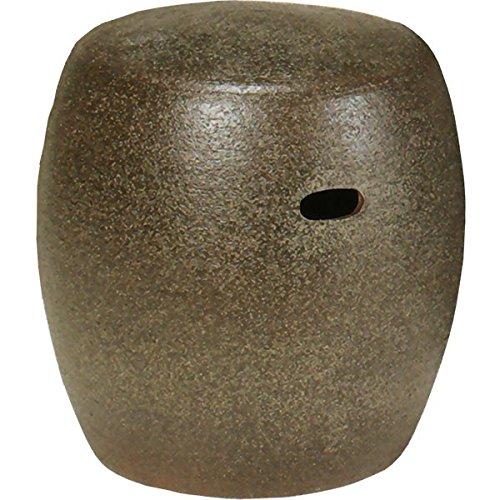 信楽焼 信楽BEST SELECTION 窯肌スツール(全高37cm×全幅37cm) B075PPWPRC