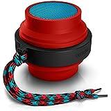 Caixa de Som Portátil Philips BT-2000R Bluetooth Speaker Vermelho