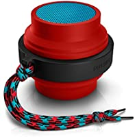 Philips BT2000R/37 Wireless Portable Speaker (Red)
