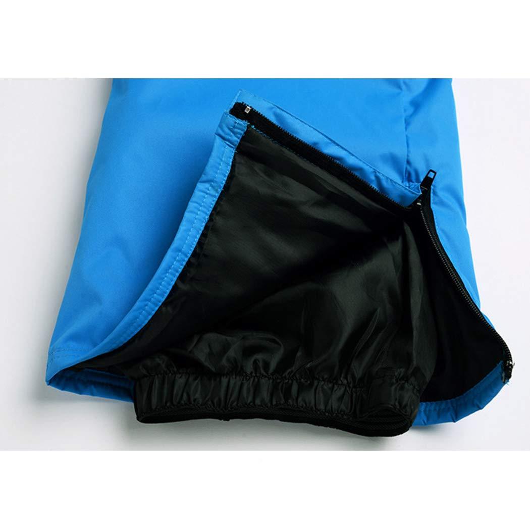 Queenhairs Pantaloni da Sci Invernali da Uomo per Esterni Pantaloni da Snowboard Imbottiti Caldi e Impermeabili da Esterno