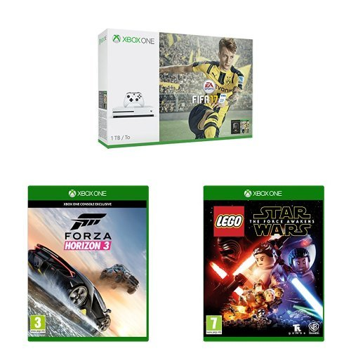 Xbox One S (1TB) with FIFA + Forza Horizon 3 + Lego Star Wars: The ...