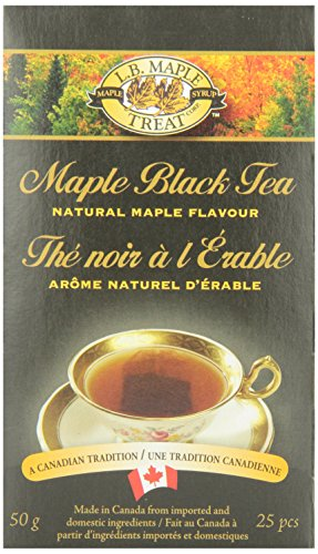 L B Maple Treat Maple Tea, 50gm/1.76oz (Maple Canada Tea)