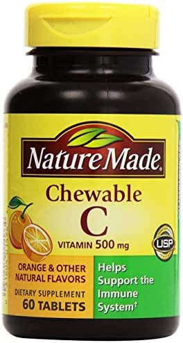 Vitamins & Supplements: Nature Made Chewable Vitamin C