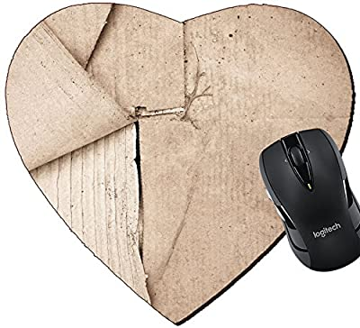 MSD Mousepad Heart Shaped Mouse Pads/Mat design 20945154 Vintage paper with plenty of copy space for text