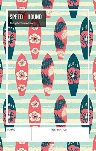 Speed Hound Triathlete's #1 Choice T0 Transition Mat - Triathlon Gear, Triathlon Accessories, Gift for Triathletes - Includes Quick Dry Swim Towel Set (Aloha Boards)