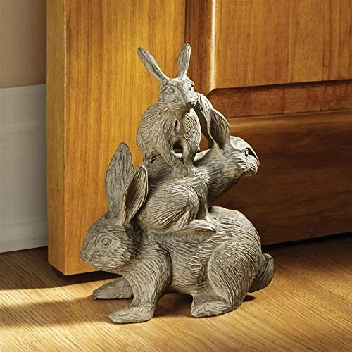 Design Toscano Bunched Bunnies Statue