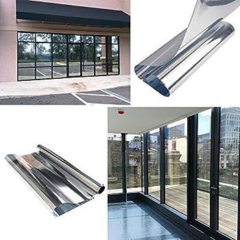 one way window hoho mirror one way silver window film vlt 20 privacy security 20in60in