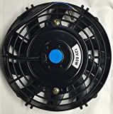 "Pro-comp 7"" Inch Electric Auto Cooling Fan 12 Volt Curved Blade"