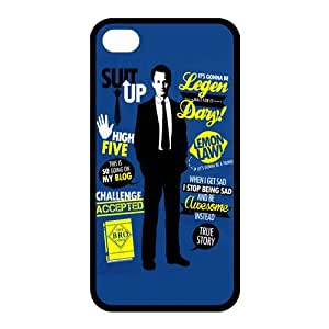 Customize Generic Rubber Material Phone Cover How I Met Your Mother Back Case Suitable For iPhone 4 iPhone 4s