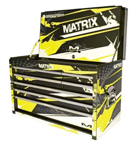 (Matrix Concepts M30 9-Drawer Factory Tool Box, Fusion Graphic Kit,)