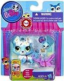 Littlest Pet Shop # 3235 Electric Blue Husky & # 3236 Husky Friend Sweeter Best Friends