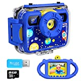 Best Kids Digital Cameras - Ourlife Kids Camera, Selfie Kids Waterproof Digital Cameras Review