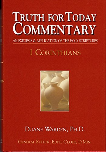Read Online Truth for Today Commentary: 1 Corinthians PDF