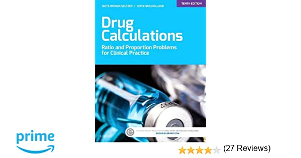 Drug Calculations: Ratio and Proportion Problems for Clinical ...