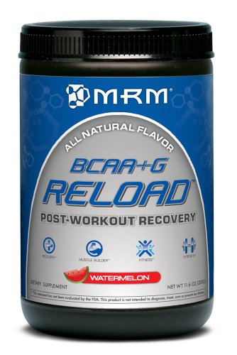 MRM BCAA +G Reload Post Workout Recovery, Watermelon, 330 Gram