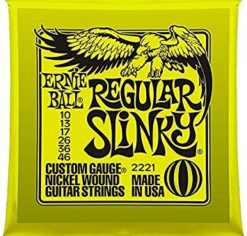 Ernie Ball 2221 Nickel Regular Slinky Electric Guitar Strings 3 Pack