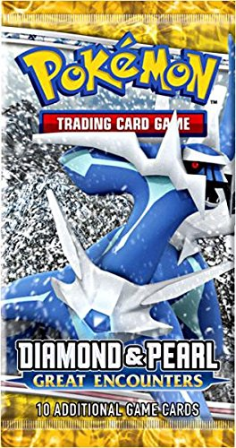 Pokemon Diamond & Pearl IV Great Encounters Booster Pack [Toy]