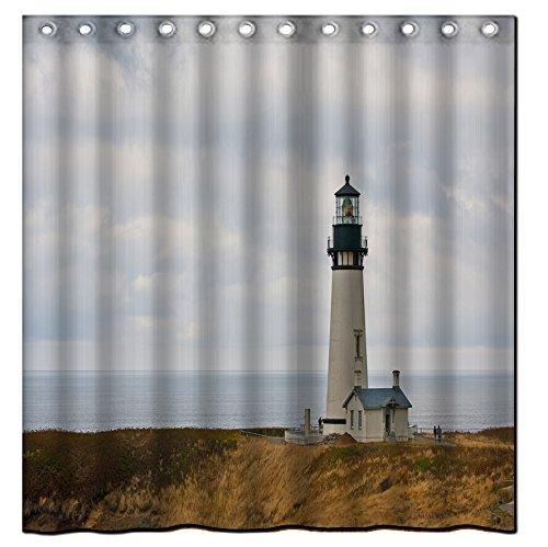 Galbreath-case-seaside-lighthouse-3-100-Polyester-Fabric-Shower-Curtain-Standard-Size-Custom-72x72inch180x180cm