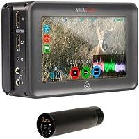 Atomos Ninja Blade 5 On-Camera HDMI Monitor & Recorder - Bundle With Ikan IK-VM300PS Stereo Video Condenser Super-Cardioid Microphone