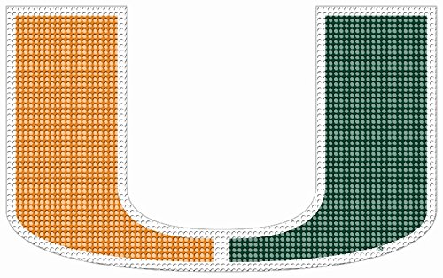 NCAA Miami Hurricanes Perforated Window Decal - Miami Hurricanes Tailgater