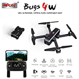 Alician Drone Trajectory Flight Altitude Hold G-Sensor 3D Flips 6-Axis Gyro Gimbal MJX B4W GPS 5G WiFi FPV with 2K Camera 25mins Flight Time Brushless Selfie RC Quadcopter 1 Battery