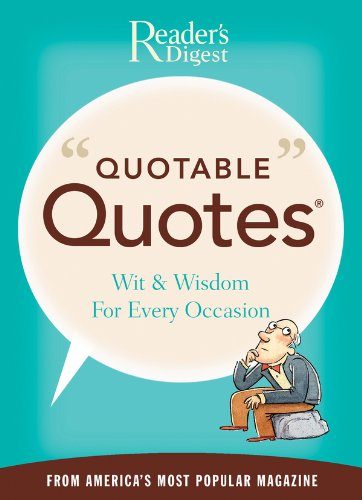 Amazon quotable quotes ebook editors of readers digest quotable quotes by editors of readers digest fandeluxe Images