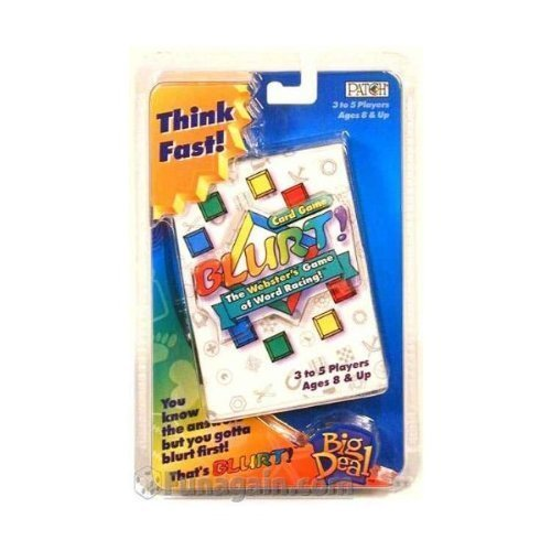 Blurt! Card Game ()