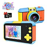 Kids Camera 2020 Latest Upgraded Kids Digital Video Camera,Nycetek Kids Camera 2.4inch 24MP Large LCD Shockproof Great Gifts for Kid 3-10 Years Old Boys Girls.(16GB SD Card Included)